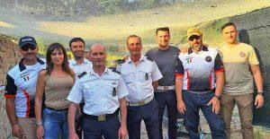 Vasanello - Gli agenti della polizia locale in addestramento allo Shooting club Vasanello