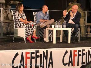 Simona Sparaco e Massimo Gramellini a Caffeina