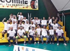 Sport - Volley - La festa del Tarquinia promosso in serie C