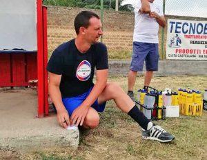 Sport - Calcio - Flaminia - Francesco Punzi prende appunti