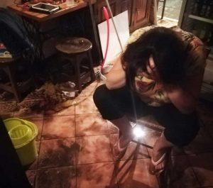 Viterbo - Allagata l'osteria Salicicchia
