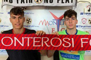 Sport - Calcio - Monterosi - Giuseppe Marcianò e Lorenzo Angeli