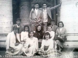 Roma - Come eravamo - Il gruppo della parrocchia S. Leonardo a S. Pietro