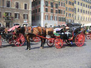 Roma - Una caratteristica botticella