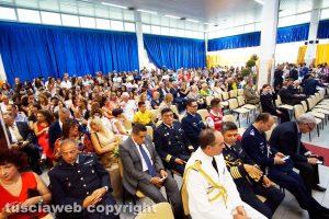 Viterbo - La consegna dei diplomi di laurea