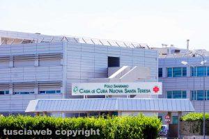 Viterbo - La clinica Santa Teresa