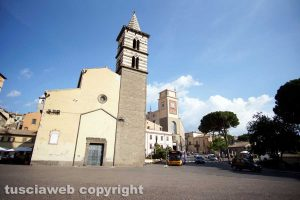 Viterbo - La chiesa degli Almadiani