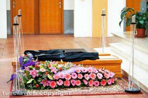 Viterbo - I funerali di Luciana Zampi