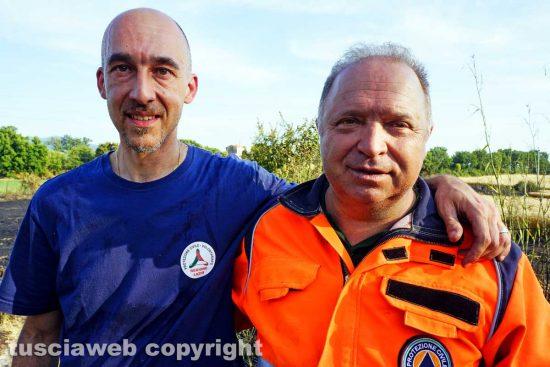 Viterbo - Marco Aquilani e Roberto Tisbi