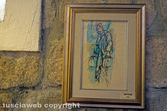 Viterbo - Un quadro di Guttuso