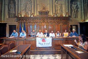 Viterbo - La presentazione dello Slow food village
