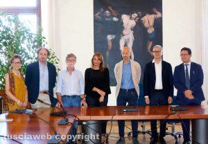Viterbo - La firma dell'accordo per l'inclusione dei disabili