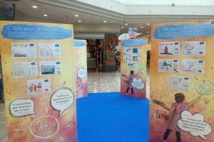 Viterbo - L'esposizione al centro commerciale Tuscia