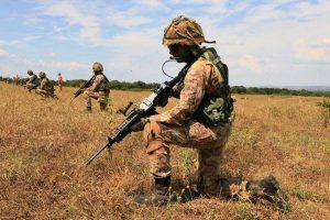 Le esercitazioni del corso Certezza della scuola sottufficiali dell'esercito