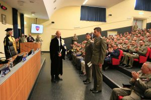 Viterbo - La cerimonia di laurea