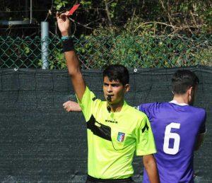 L'arbitro Gerardo Simone Caruso