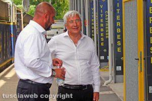 Sport - Calcio - Marco Romano e Diego Foresti al Rocchi