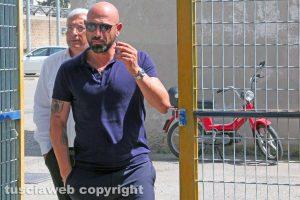 Sport - Calcio - Antonio Calabro e Marco Romano al Rocchi
