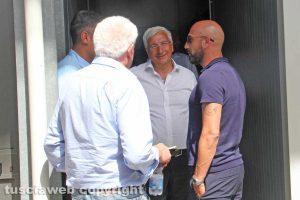 Sport - Calcio - Marco Arturo Romano e Antonio Calabro al Rocchi