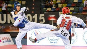 Antonino Bossolo argento all'Asian Open di Para Taekwondo
