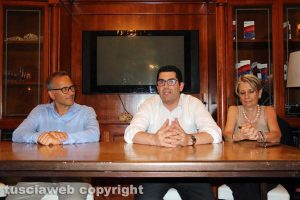 Fabrizio PUrcharoni, Giacomo Barelli e Mariarita De Alexandris