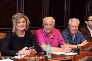 Viterbo - Consiglio comunale - Perlorca, Marcoaldi e Merli