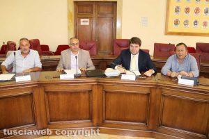 Viterbo - Consiglio provinciale - L'opposizione