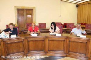 Viterbo - Consiglio provinciale - La maggioranza