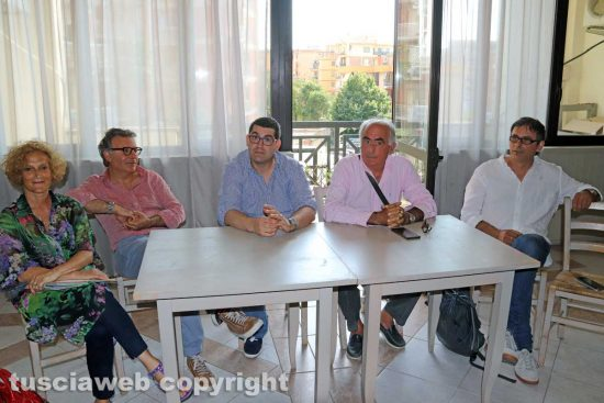 Viterbo - Comune - La conferenza dell'opposizione per un anno d'amministrazione Arena