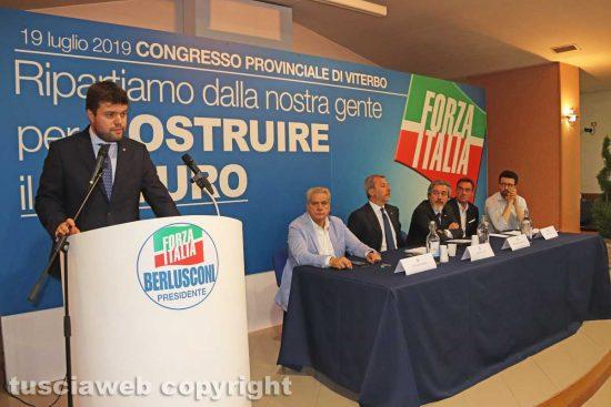 Viterbo - Alessandro Romoli eletto coordinatore provinciale Forza Italia