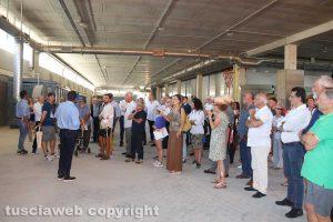 Tuscania - La visita all'impianto di compostaggio
