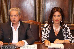Giovanni Arena e Laura Allegrini