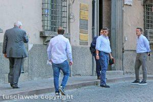 Sport - Calcio - Viterbese - Piero Camilli e i suoi figli dal notaio