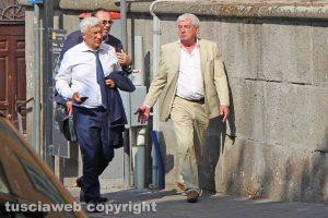 Sport - Calcio - Viterbese - Marco Romano dal notaio