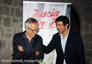 Viterbo - Marco Bellocchio e Pierfrancesco Favino al Tuscia film fest
