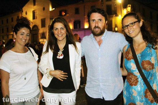 Viterbo - Alessandra Di Marco, Alessia Mancini, Marco De Carolis e Giorgia Di Fusco
