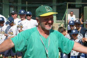 Sport - Baseball - Montefiascone - Il manager Roberto Fortunati