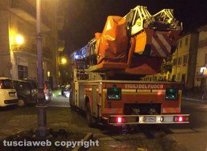 Vetralla - Piazza Marconi - Intervento di vigili del fuoco e 118