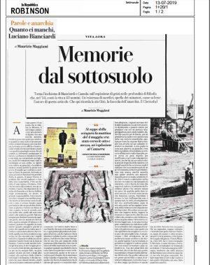 """Una recensione sul Repubblica de """"I minatori della Maremma"""""""
