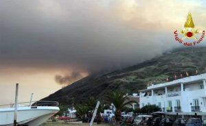Esplosioni sullo Stromboli