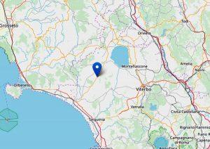 Lieve scossa di terremoto a Canino