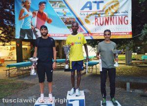 Sport - Atletica - Il podio della Corri Orte