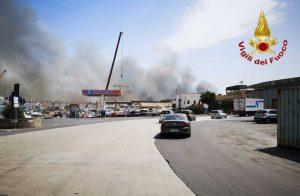 Catania - Incendio