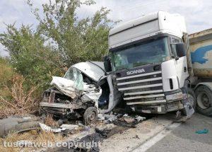 Tarquinia - L'incidente sull'Aurelia bis