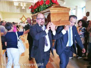 Viterbo - I funerali di Luigi Vergari