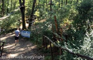 Il parco Treja adventure