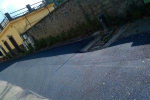 Viterbo - I lavori alla Quercia