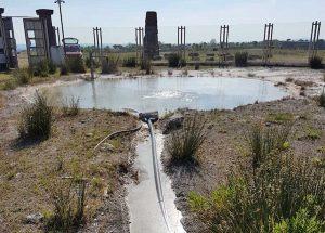 Viterbo - Bullicame - L'acqua alla sorgente