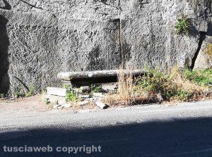 Viterbo - Degrado a viale Fiume