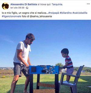 Il post di Alessandro Di Battista in vacanza a Taqruinia